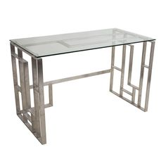 LumiSource Mandarin Desk | from hayneedle.com
