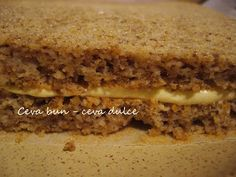 Adela Zilahi: Prajitura cu migdale, crema de vanilie si cacao Sandwiches, Food, Essen, Meals, Paninis, Yemek, Eten