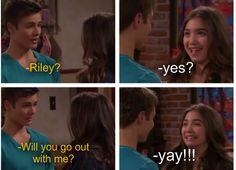 gif girl meet world lucas kissed riley - Google Search