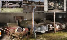 The haul of 60 rusting motors, which includes a Ferrari once sat in by Jane Fonda and a Talbot-Lago previously owned by an Egyptian king, was found on a farm in western France.