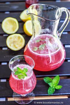 bucatar maniac: Limonada cu zmeura