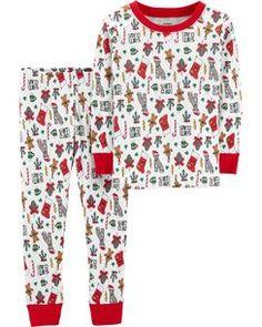 NWT Gymboree GYMMIES Love Sweet Treats Cupcakes Snug Fit 2PC S//S Pajamas PJ/'S