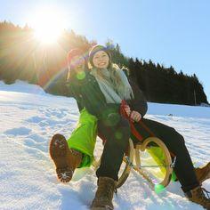Rodeln im Salzburger Saalachtal Hiking, Vacation