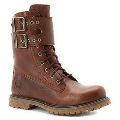 "Timberland Women's 8"" Premium Double Strap Waterproof Boot"