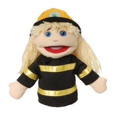 Community Helper Puppets, School Puppet and Kids Puppet Theater Early Learning, Kids Learning, Diversity In The Classroom, Puppet Patterns, Teacher Supplies, Preschool Curriculum, Community Helpers, Hand Puppets, Creative Play
