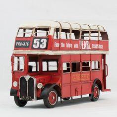 Autobus A Due Piani - Oggetto vintage - Modellismo - vetulus -