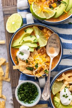 Creamy Chicken Tortilla Soup is one of my favorite fall soup recipes. It's creamy, it's delicious, and it's filled with all of my favorite Tex-Mex ingredients. This easy tortilla soup recipe is perfect for any night of the week, and it's so easy to save and reheat later! Healthy Chicken Tortilla Soup, Chicken Enchilada Soup, Tex Mex, Slow Cooker, Crockpot, Authentic Mexican Recipes, Fall Soup Recipes, Drink Recipes, Creamy Chicken Enchiladas