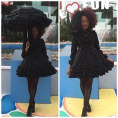 Black Goth Girls