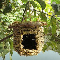 Birds Cages & Accessories--Handmade Straw Nest Bird's Nest Rainproof Birdcage Panda Superstore http://www.amazon.com/dp/B00MFJP1R6/ref=cm_sw_r_pi_dp_kA-Gub1MCD168