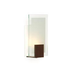 Arandela Lumidec AR49-S1E27MW Transparente em Iluminação na MadeiraMadeira