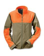 This upland hunting jacket is lightweight, breathable and water-resistant.