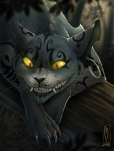Cheshire Madness by badass-doctor on DeviantArt Cheshire Cat Disney, Dark Alice In Wonderland, Alice Madness Returns, Dark Art Drawings, Were All Mad Here, Creepy Dolls, Warrior Cats, Faeries, Cat Art