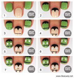i like to do my nails in which the season is and this looks like something i would like try on haloween!!