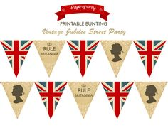 Printable British Party by papergravystore