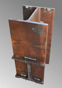 Tischgestell, Tischfuss, Industriedesign, industrial design, Rost, Edelrost | eBay