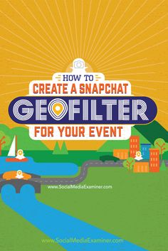 Have you heard of Snapchat geofilters? Snapchat On-Demand Geofilters let you design custom filters people can use on their snaps based on a custom location you define. In this article I'll explain how to create two types of Snapchat On-Demand Geofilters and explore several ways marketers can use them for business. Via @smexaminer.
