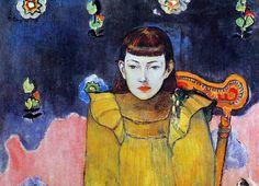 Portrait de Vaïté, Jeanne Goupil, 1896 | Paul Gauguin