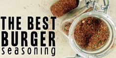 The Best Burger Seasoning #whole30