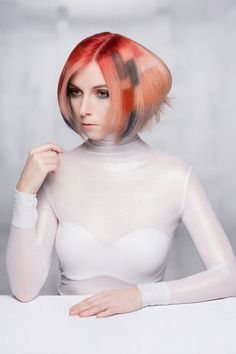 A great collection I assisted with-NAHA 2015 hair color by Dallan Flint