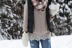 It makes it a whole lot more versatile to wear with diverse things. Sometimes too a lot of fantastic issue is a great thing. Jillian Harris, Winter Outfits For Work, Winter Clothes, Work Outfits, Winter Engagement, Comfy Casual, Winter Sweaters, What To Wear, Style Me