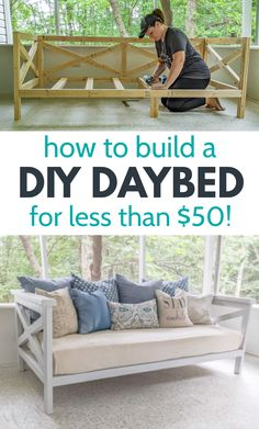 Painting Outdoor Wood Furniture, Wood Patio Furniture, Diy Furniture Plans Wood Projects, Outdoor Furniture Plans, Furniture Makeover, Plywood Projects, Space Projects, Furniture Ideas, Patio Decorating Ideas On A Budget