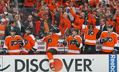 The feel of sending the Penguins home in the round of the 2012 playoffs Game Streaming, Tv Schedule, Nhl Games, Philadelphia Flyers, Penguins, Letting Go, Hockey, Haha, Sports