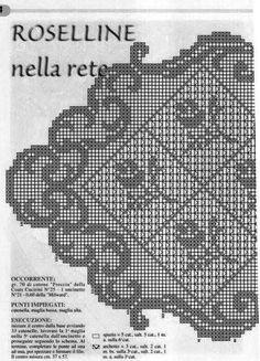 Kira scheme crochet: Scheme crochet no. 1168