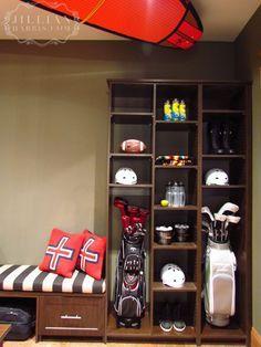 Golf Bags Mudroom   Google Search
