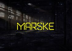 Marske is a free stencil display font which can support Russian, Ukrainian and Belarusian CyrillicDesigned by Kash Singh & Sergiy Tkachenko