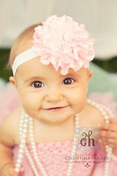 Baby Headband Flower HeadbandBaby Girl by LittleLovesDesigns, $11.95