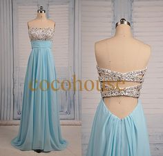 Hey, I found this really awesome Etsy listing at https://www.etsy.com/listing/192997639/new-blue-beaded-crystals-prom-dresses