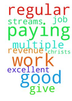 I thank You Lord God for the regular good paying work - I thank You Lord God for the regular good paying work that You have for me. I pray for multiple revenue streams. Thank You for all the help You give me. I pray I can do an excellent job In Jesus Christ;s Name amen Posted at: https://prayerrequest.com/t/RsO #pray #prayer #request #prayerrequest