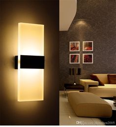 Delicious Led Sensor Night Light Corridor Bathroom Bedroom Intelligent Body Sensor Bedside Lamp Loft American Country Wall Light Fixture Led Lamps Led Night Lights
