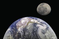 Distancia de la Tierra a la Luna en kilómetros