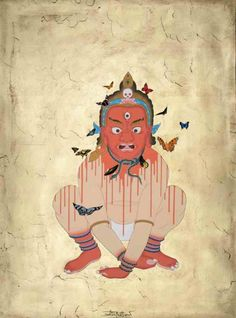 Lost Spirit - Tibetan Art