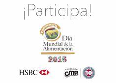 4ta convocatoria anual del Día Mundial de la Alimentación que se realiza en alianza con HSBC México   Fundación CMR. http://www.expoknews.com/se-abre-convocatoria-para-combatir-la-desnutricion-infantil/