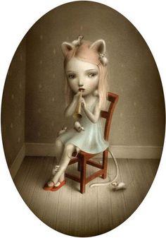 Nicoletta Ceccoli, catgirl