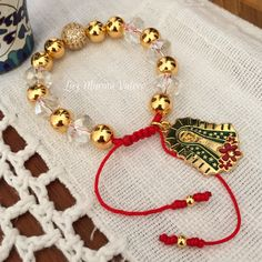 Pulsera by Luz Marina Valero Diy Beaded Bracelets, Jewelry Bracelets, Bangles, I Love Jewelry, Diy Jewelry, Handmade Jewelry, Seed Bead Jewelry, Beaded Jewelry, Hamsa Hand