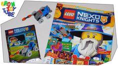 UNBOXING NEW LEGO NEXO KNIGHTS MAGAZINE 6 2016  LIMITED EDITION