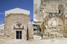 AleaOlea, renovation project of the ancient church of Vilanova de la Barca, Lleida, Spain 2016
