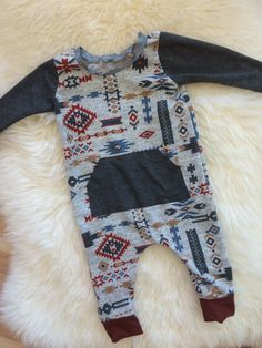 23e49b5ab Longsleeve Baby Harem Romper Baby Boy Outfits, Kids Outfits, Hippie Baby,  Boho Baby