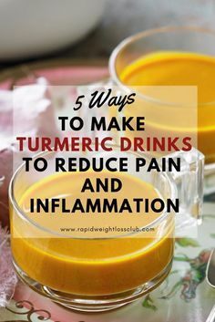 5 Ways To Make Turmeric Drinks To Reduce Pain And Inflammation - All About Fitness, Healthy Foods, Sports Activities Cold Home Remedies, Natural Home Remedies, Natural Healing, Holistic Healing, Turmeric Uses, Turmeric Drink, Las Vegas, Natural Treatments, Health Remedies