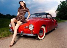 Karmen Ghia ... my dream car ... someday ...