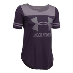 Under Armour Womens UA Sportstyle Baseball Tee Under Armour Store, Under Armour Women, Program Design, Branded T Shirts, Fashion Brands, Ua, Let It Be, Image Link, Advertising