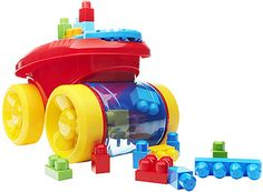 Video Review for Mega Bloks First Builders Block Scooping Wagon