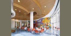 Helen DeVos Cildren's Hospital Cafeteria