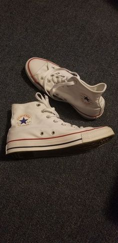 207246f96fa0 Converse all star chuck taylor white high top  fashion  clothing  shoes   accessories