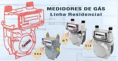 #consigaspecas - Medidores de Gás, Linha Residencial, tem na www.consigaspecas.com.br