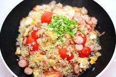 ข้าวผัดแบบง่าย / Easy Stir-Fried Rice Recipe / English and Thai Captions