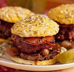 The perfect grain-free burger bun